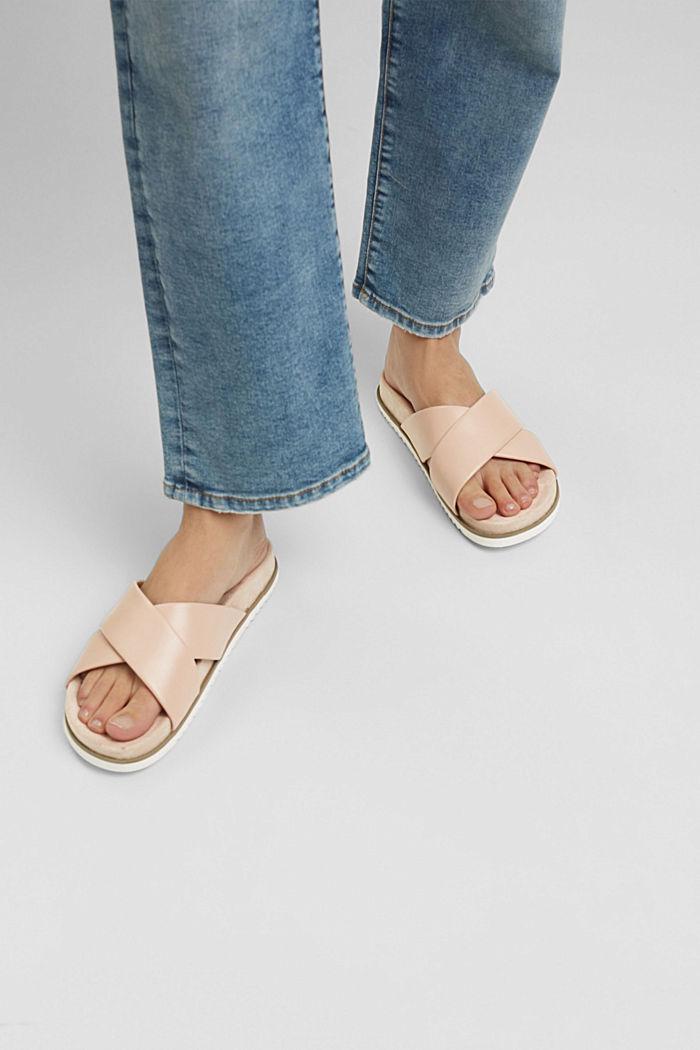 Sandalias de polipiel