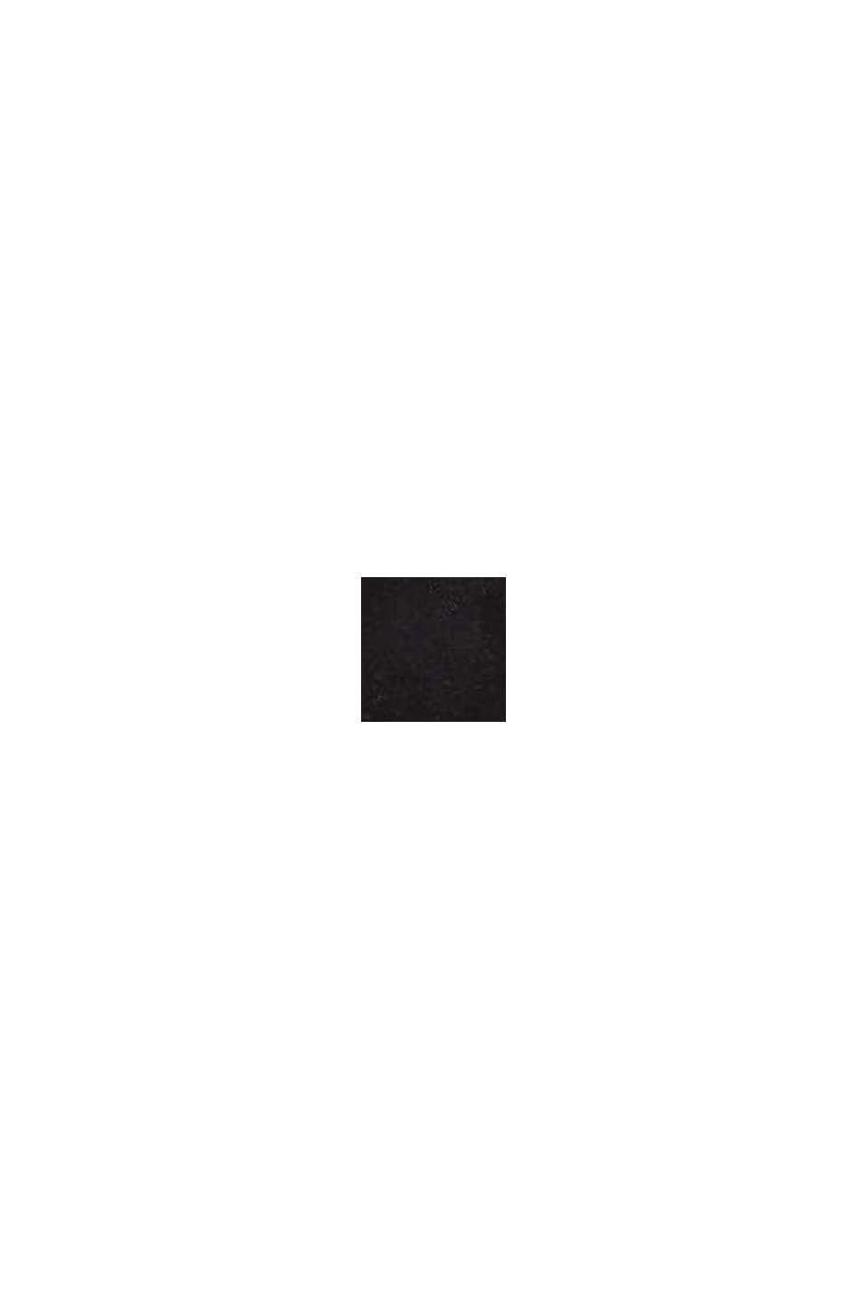 Riempjessandalen van imitatiesuède, BLACK, swatch