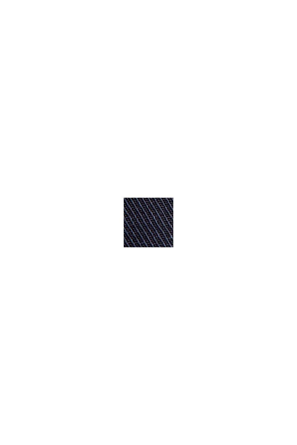Med linne: Culottebyxa med knytskärp, NAVY, swatch