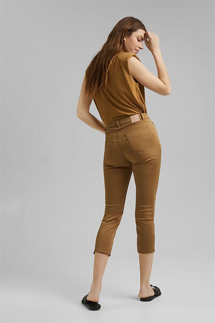 Pantalon corsaire super stretch, BARK, detail image number 3