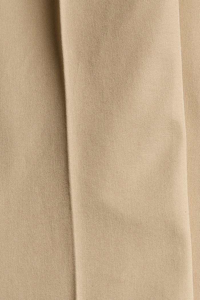 Cropped kick flare trousers, SAND, detail image number 4
