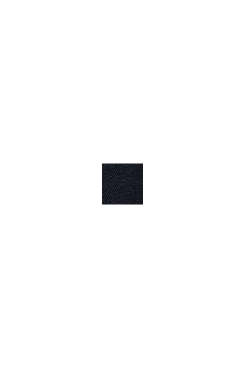 Lækre shorts i twill med bælte, BLACK, swatch