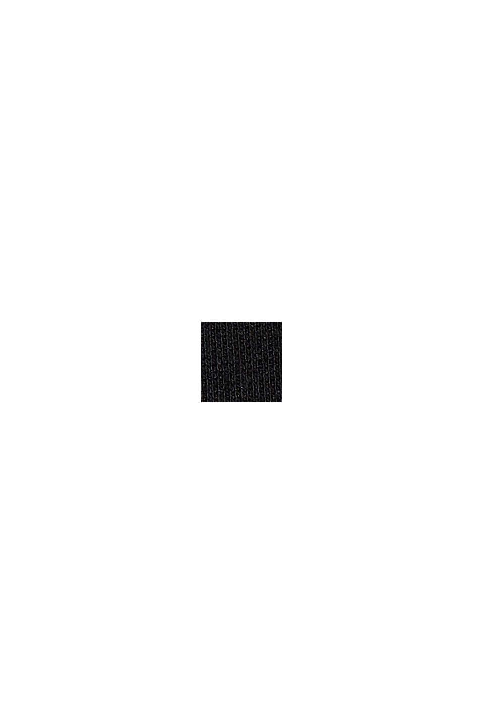 Wickelrock aus Interlock-Jersey, LENZING™ ECOVERO™, BLACK, swatch