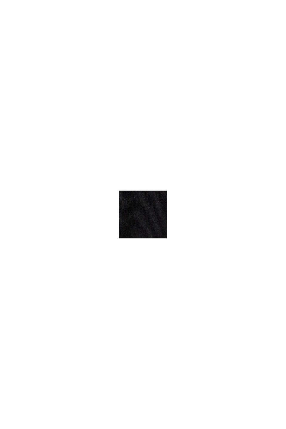 TENCEL™-Mix: Kleid aus Interlock-Jersey, BLACK, swatch
