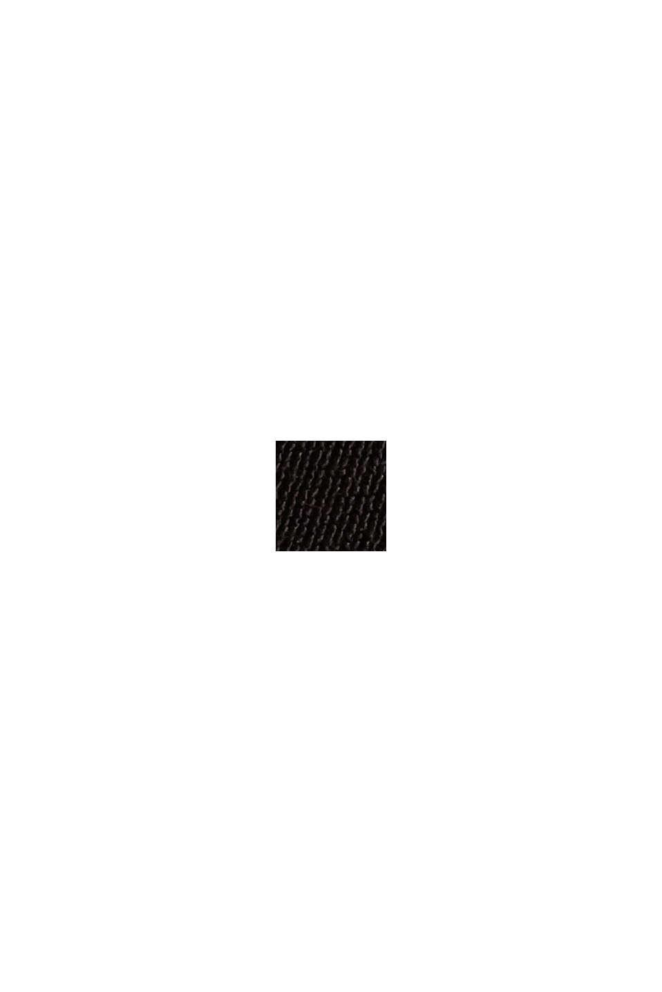LENZING™ ECOVERO™: sukienka maxi z falbanami, BLACK, swatch