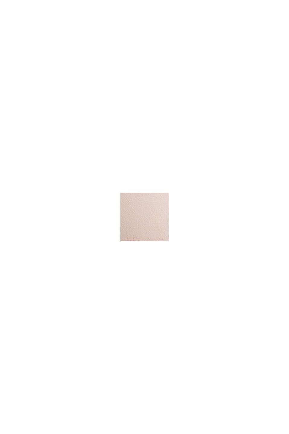 LENZING™ ECOVERO™: Midikleid mit Gürtel, LIGHT PINK, swatch