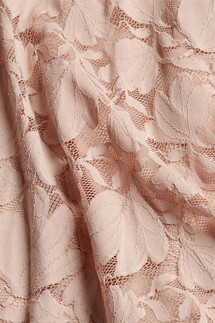 Floral lace dress, NUDE, detail image number 5
