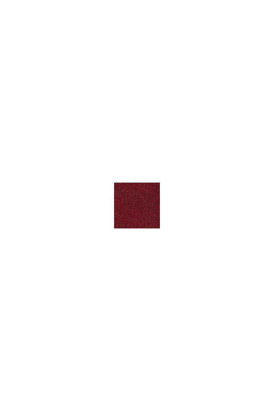 Vestido lencero de largo midi, BORDEAUX RED, swatch