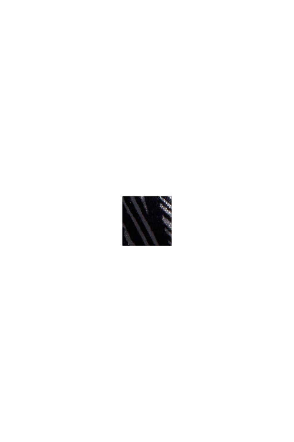Maxikleid mit Ginko-Print, NAVY, swatch
