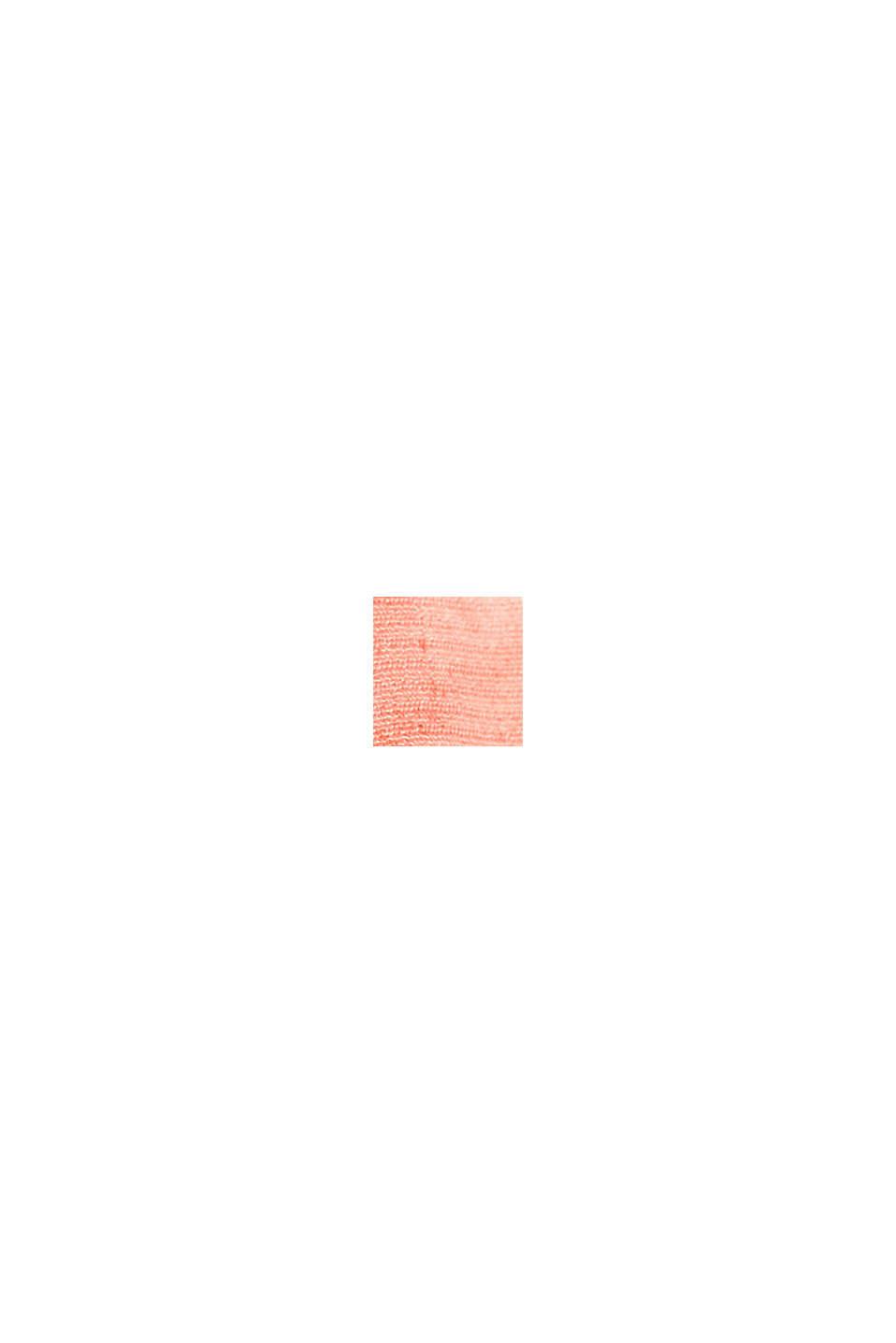 Blusa stampata con maniche a tre quarti, LIGHT PINK, swatch