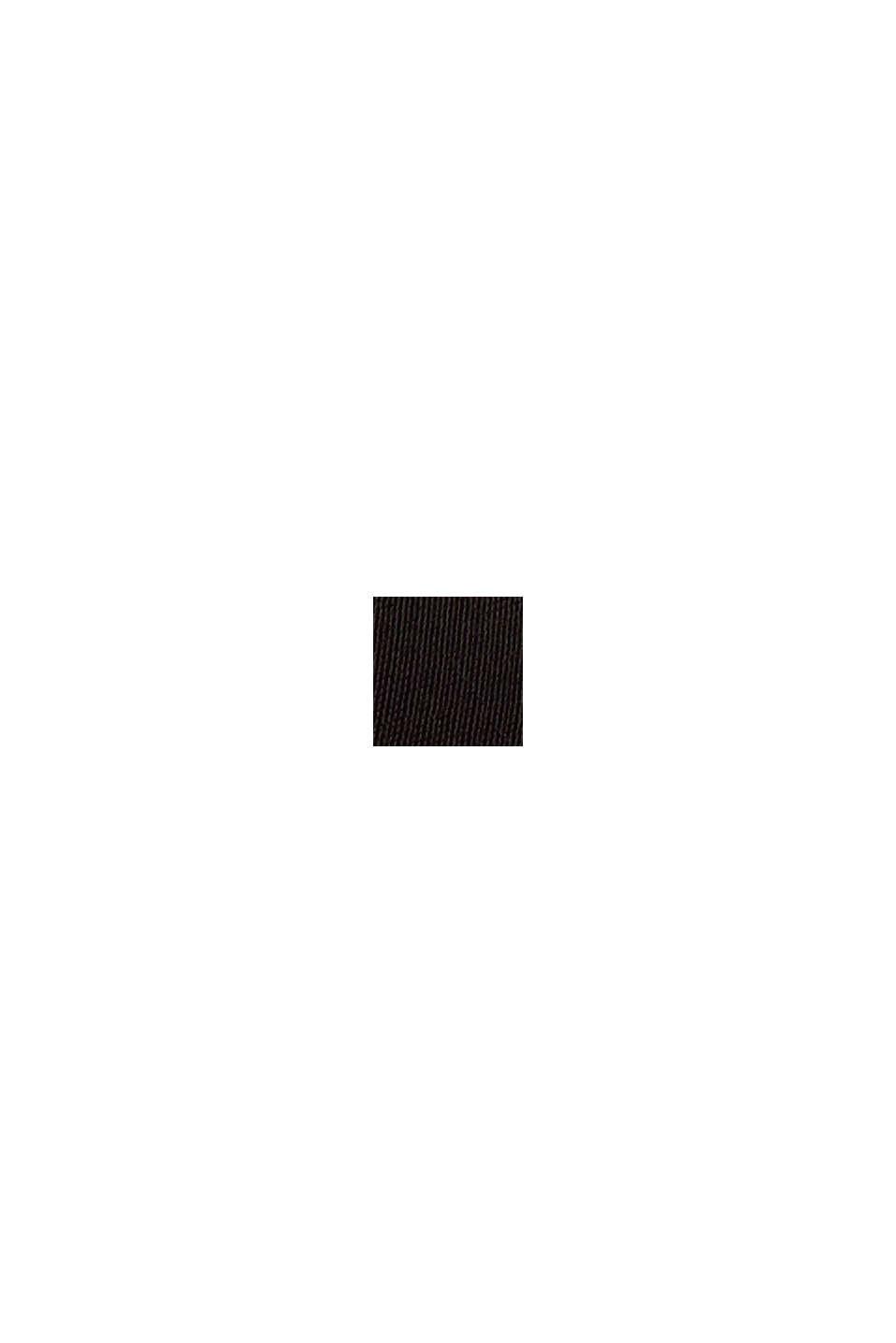 Top van LENZING™ ECOVERO™, BLACK, swatch