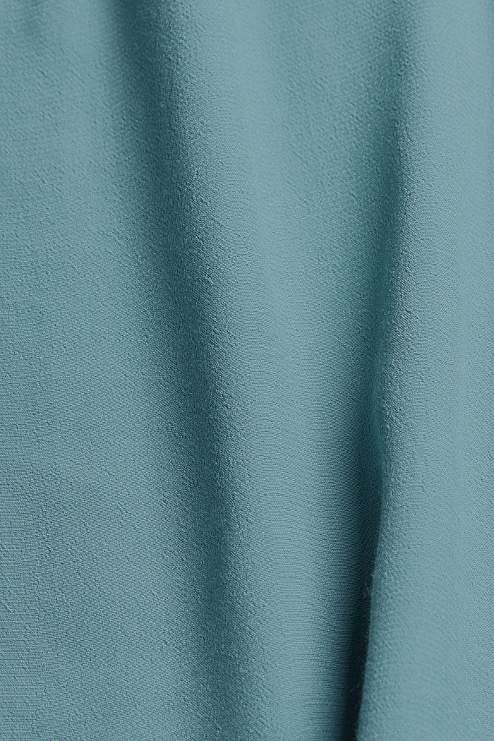 Olkaintoppi LENZING™ ECOVERO™ -materiaalia, DARK TURQUOISE, detail image number 4