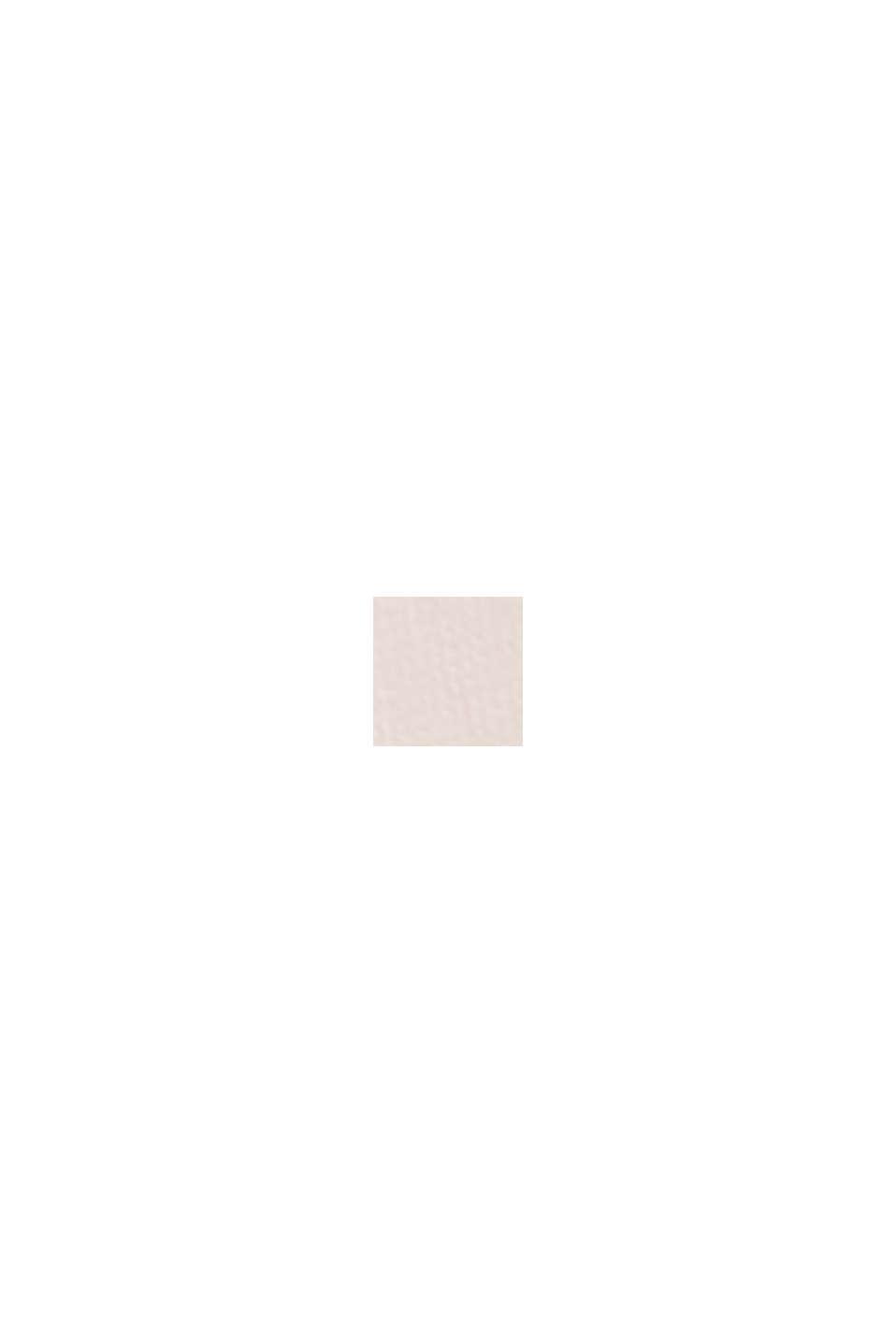 Top façon blouse à effet superposé, en crêpe chiffon, LIGHT PINK, swatch