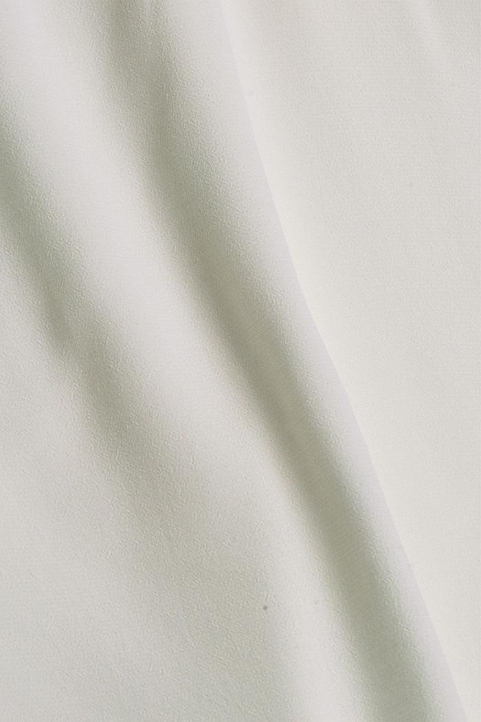 Fließendes Top mit goldenen Doppelträgern, OFF WHITE, detail image number 4