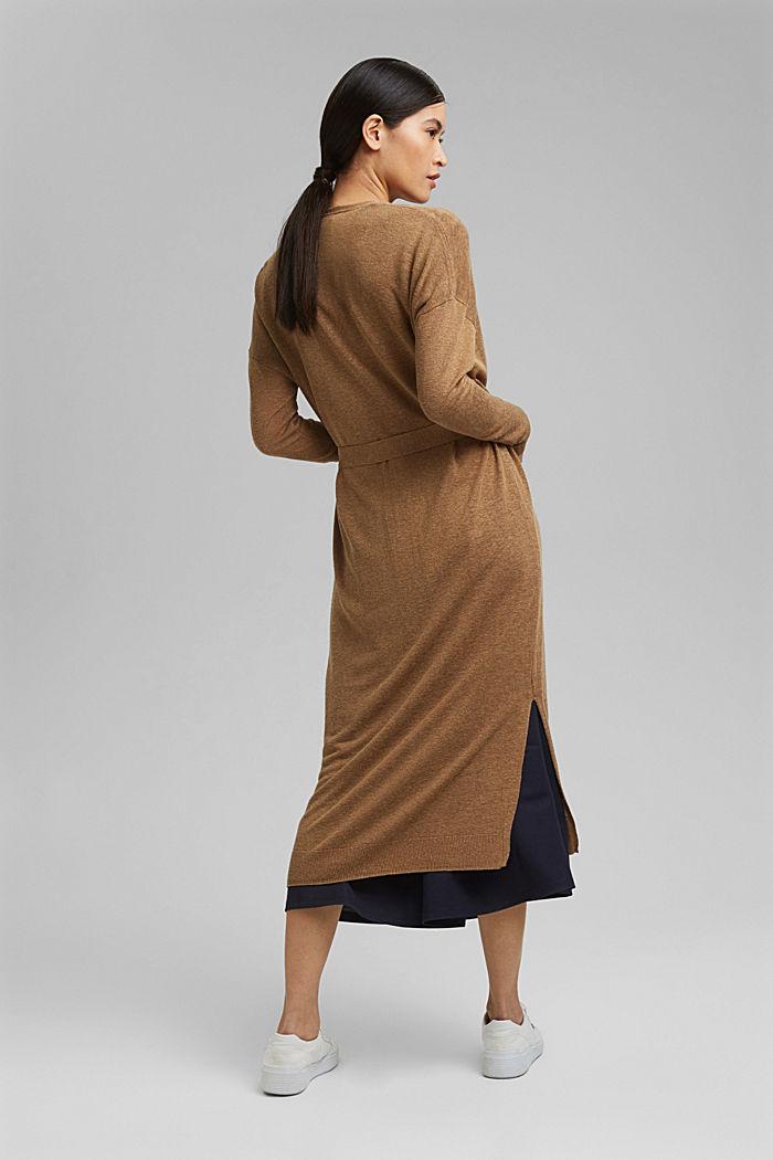 Met linnen: lang vest met ceintuur, BARK, detail image number 3