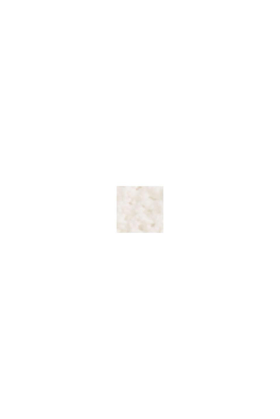 Mit Leinen: luftig gestrickter Cardigan, OFF WHITE, swatch