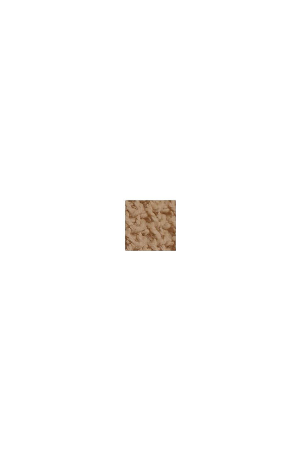 Con lino: chaleco con escote en pico, SAND, swatch