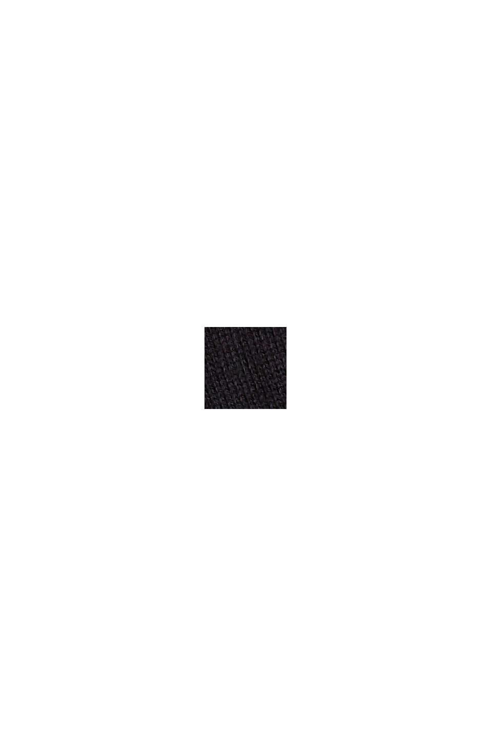 Stricktop mit LENZING™ ECOVERO™, BLACK, swatch
