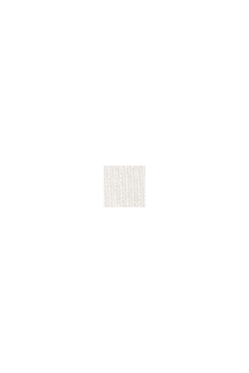 Stricktop mit LENZING™ ECOVERO™, OFF WHITE, swatch