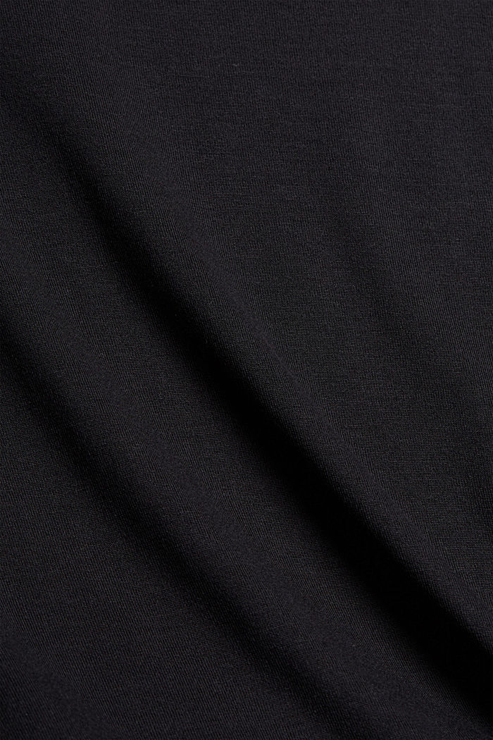 T-Shirt aus TENCEL™ x REFIBRA™, BLACK, detail image number 4