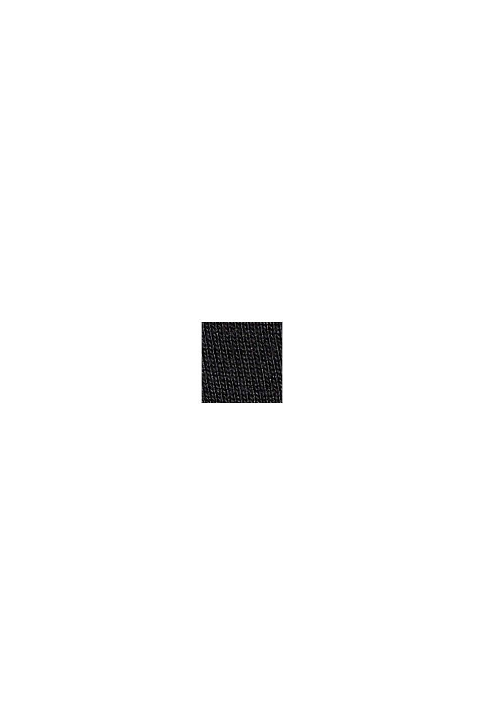 T-shirt made of TENCEL™ x REFIBRA™, BLACK, swatch
