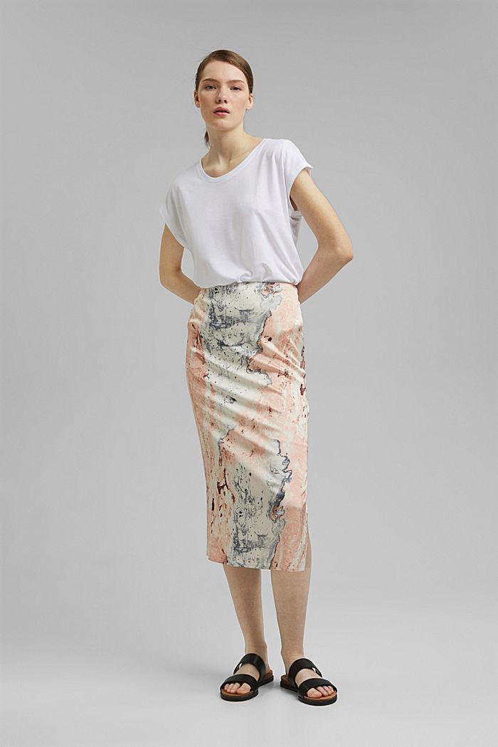 T-Shirt aus TENCEL™/Modal, WHITE, detail image number 6