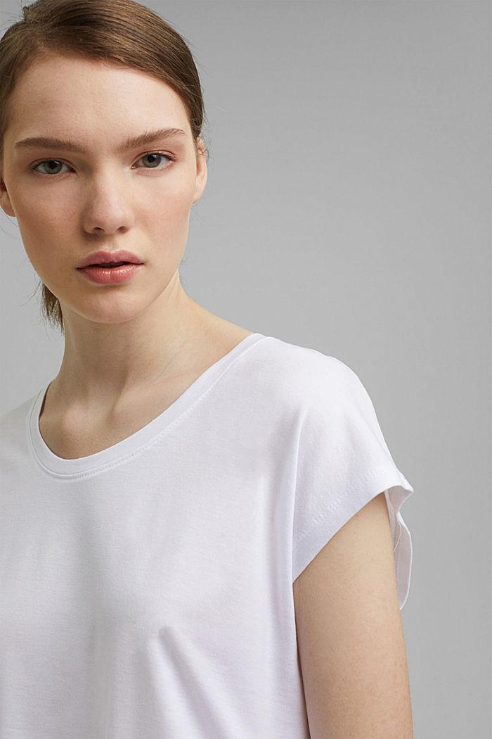 T-Shirt aus TENCEL™/Modal, WHITE, detail image number 5