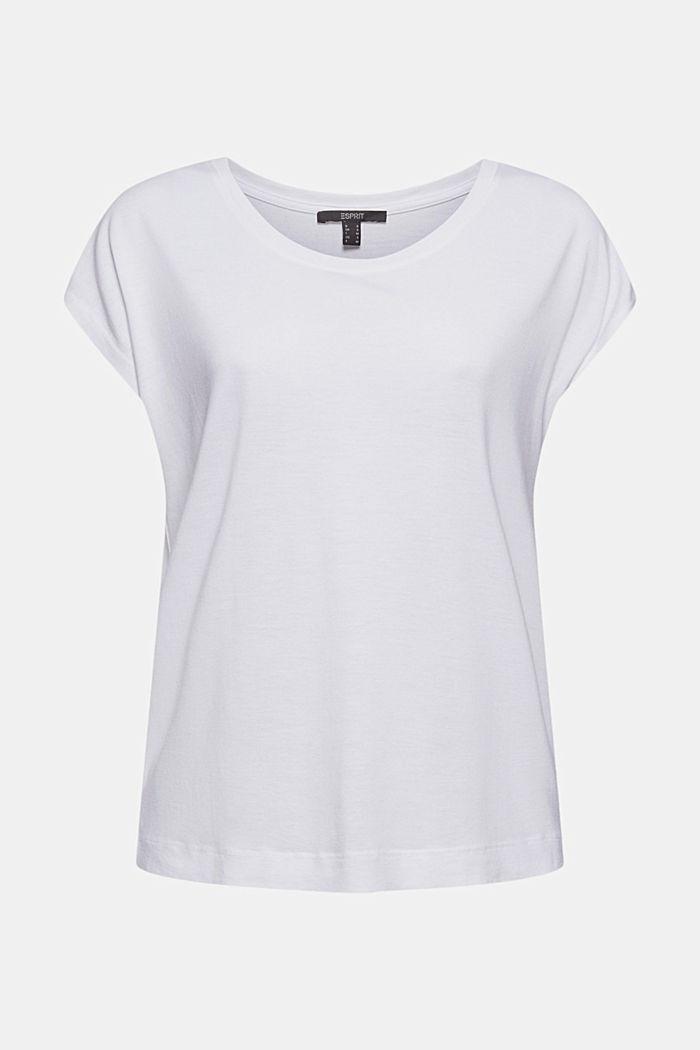 T-Shirt aus TENCEL™/Modal, WHITE, detail image number 7