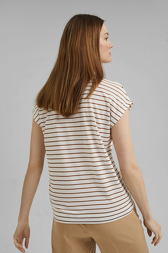 T-Shirt aus TENCEL™ x REFIBRA™, OFF WHITE, detail image number 3