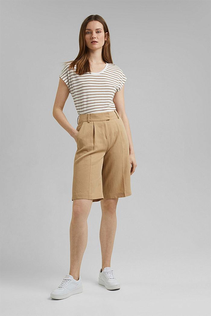T-Shirt aus TENCEL™ x REFIBRA™, OFF WHITE, detail image number 1