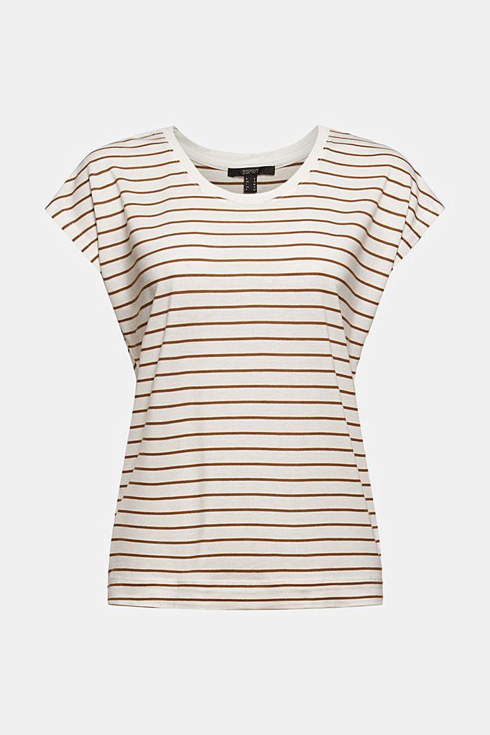T-Shirt aus TENCEL™ x REFIBRA™, OFF WHITE, detail image number 6