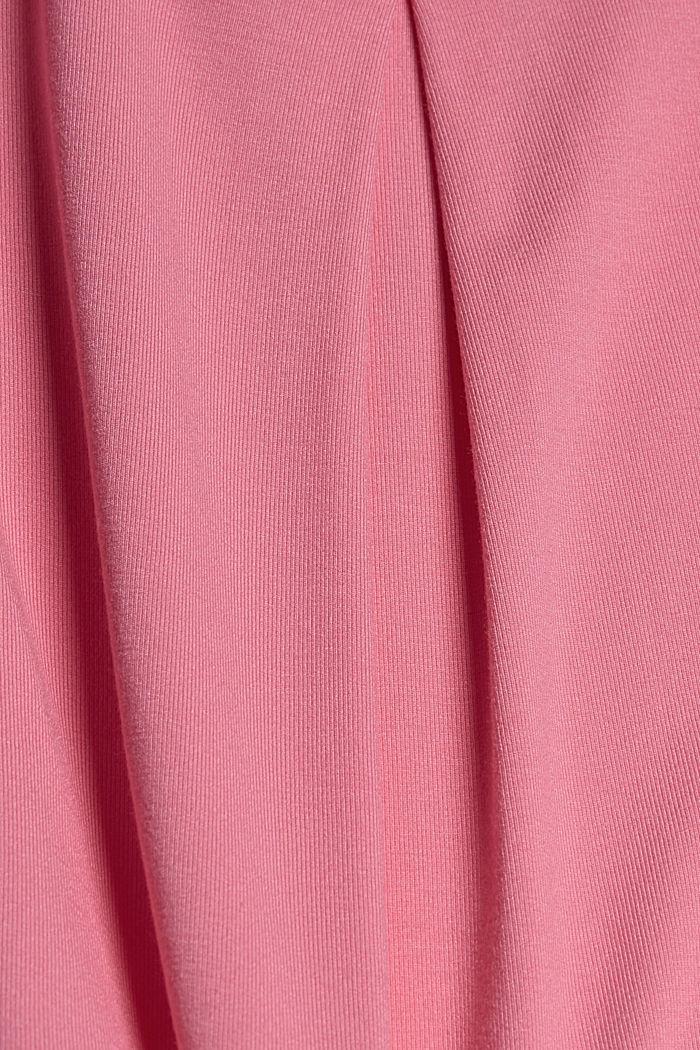 T-Shirt aus TENCEL™ Lyocell, PINK, detail image number 4