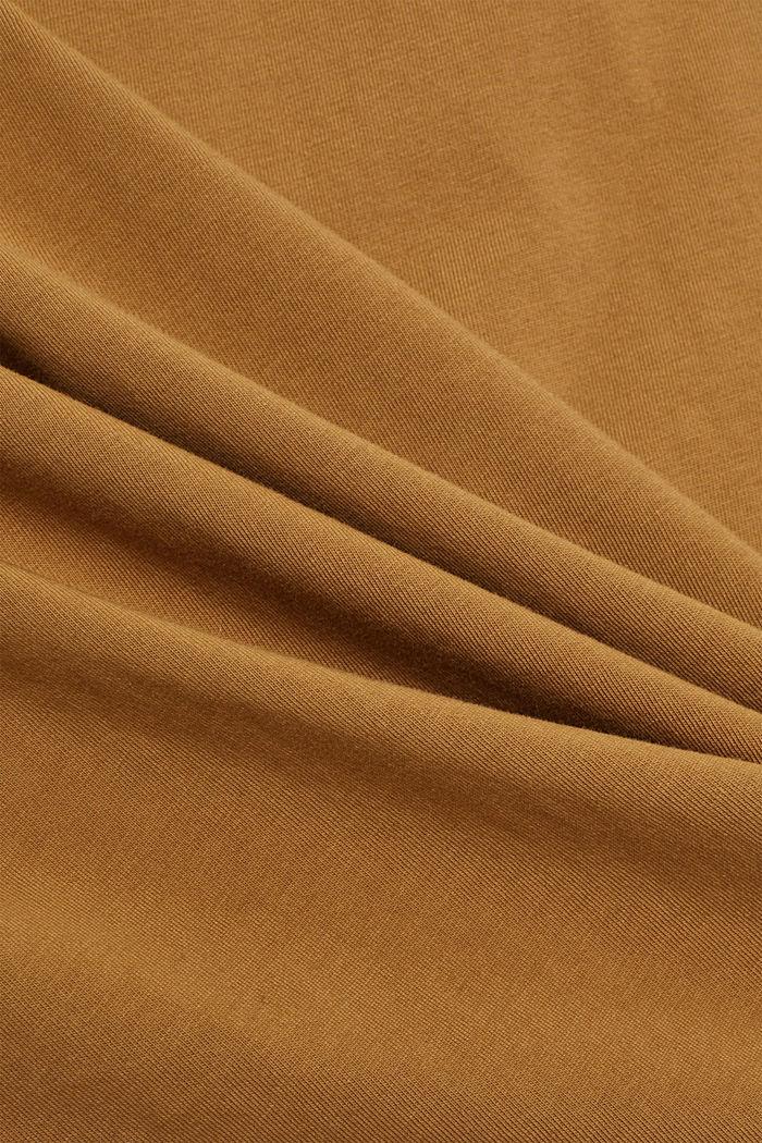 T-Shirt mit Schulterpolstern, 100% Bio-Baumwolle, BARK, detail image number 4