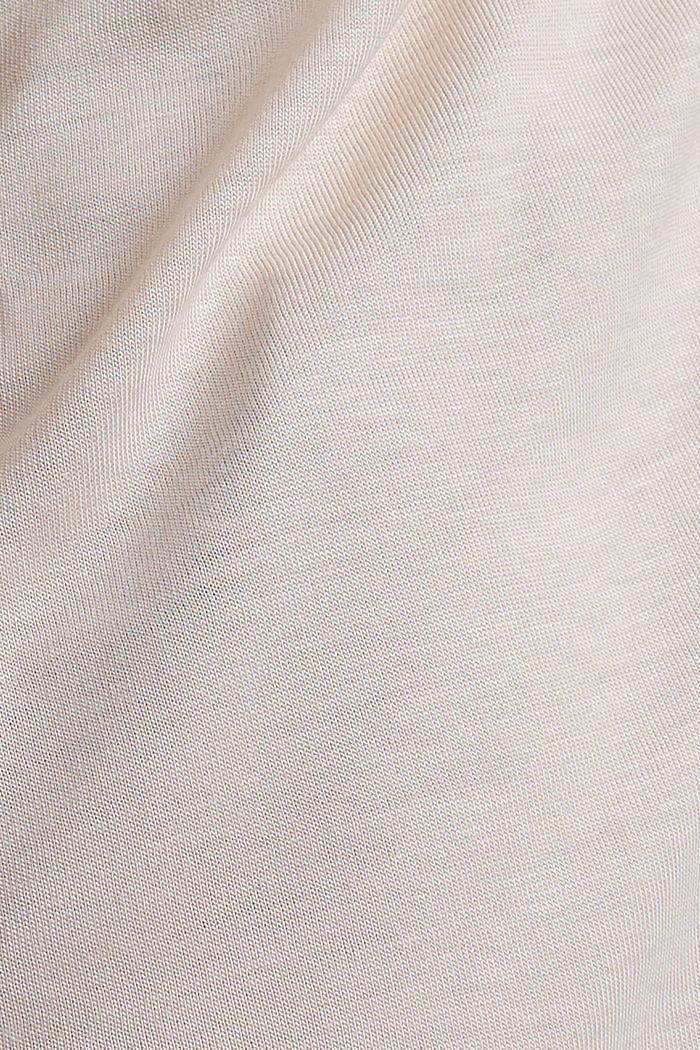 Blusenshirt aus LENZING™ ECOVERO, LIGHT PINK, detail image number 4
