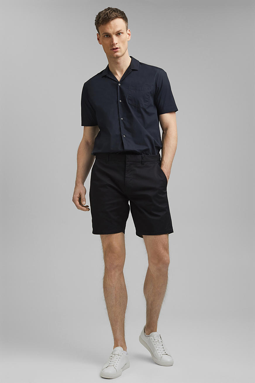 Chino shorts made of organic cotton/Lycra®T400®