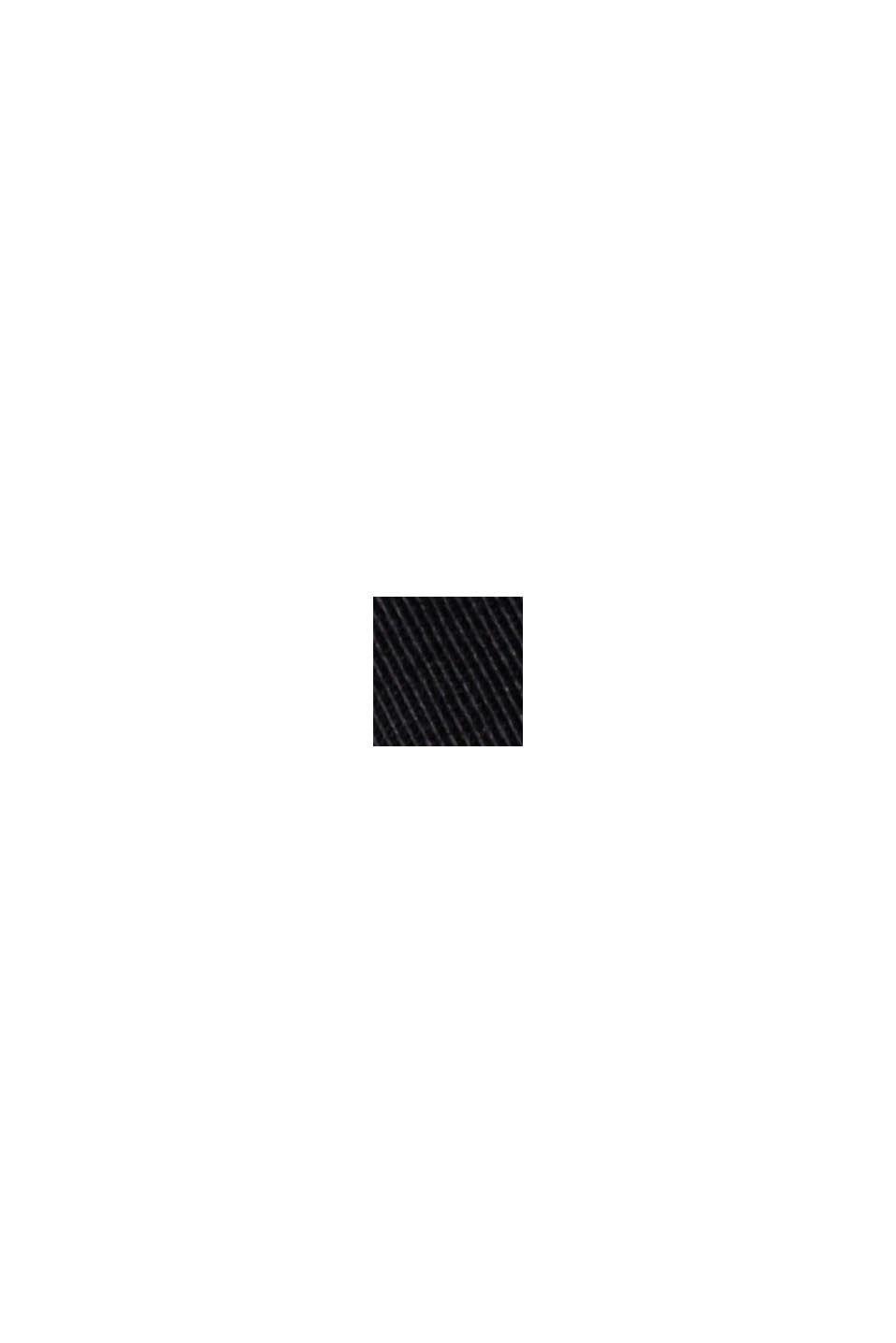 Chino-Shorts aus Bio-Baumwolle/Lycra®T400®, BLACK, swatch