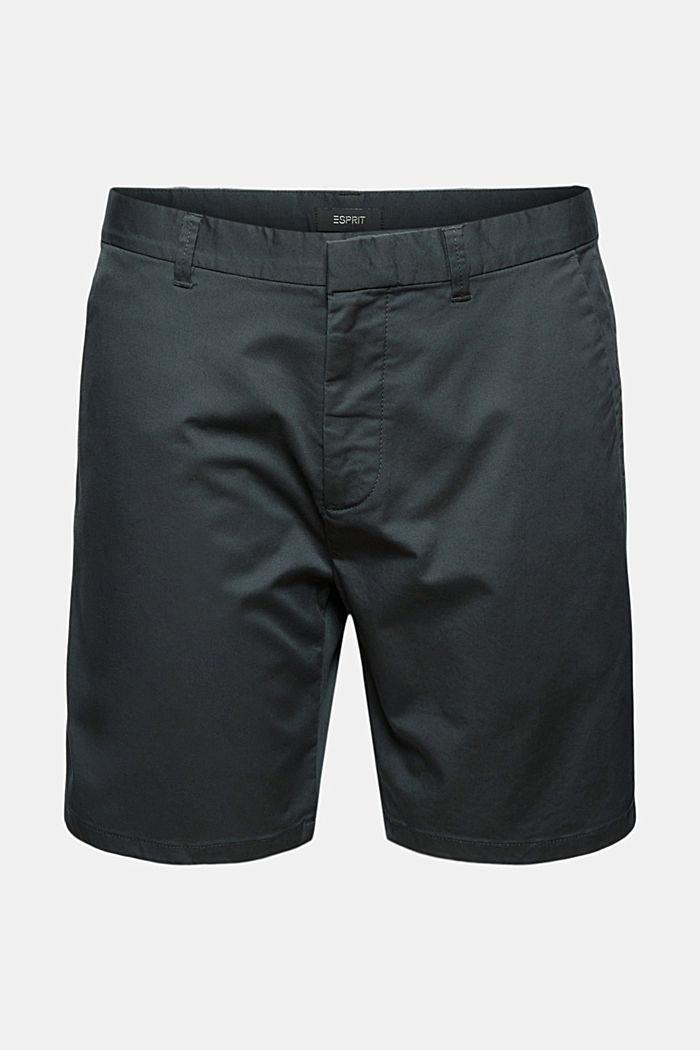 Chino-Shorts aus Bio-Baumwolle/Lycra®T400®