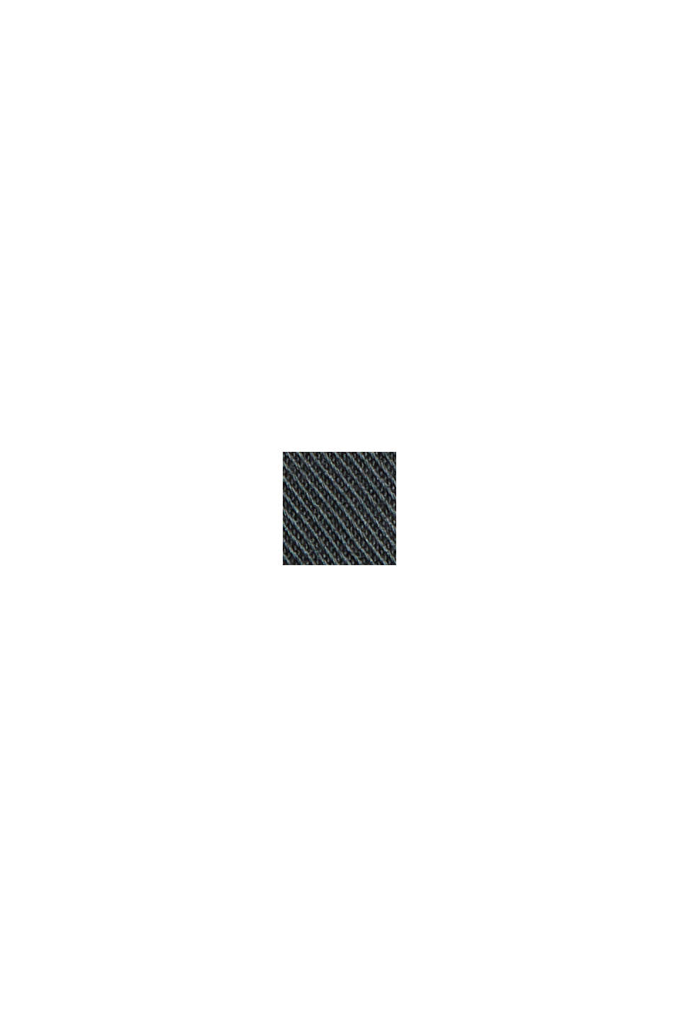 Chino-Shorts aus Bio-Baumwolle/Lycra®T400®, DARK TEAL GREEN, swatch