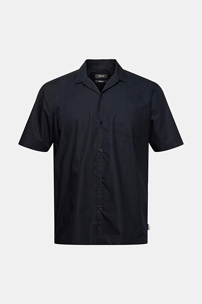 Overhemd met korte mouwen van 100% pima katoen