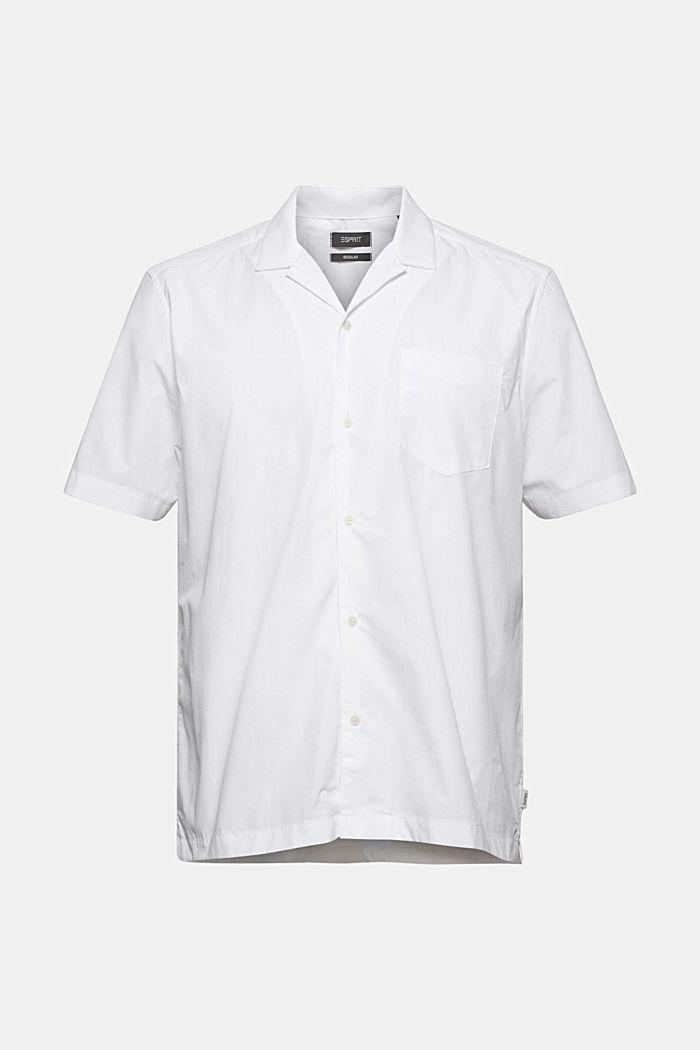 Kurzarm-Hemd aus 100% Pima Baumwolle