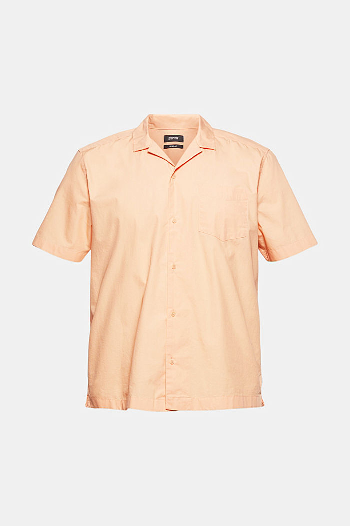 Short sleeve shirt made of 100% pima cotton, PEACH, detail image number 8
