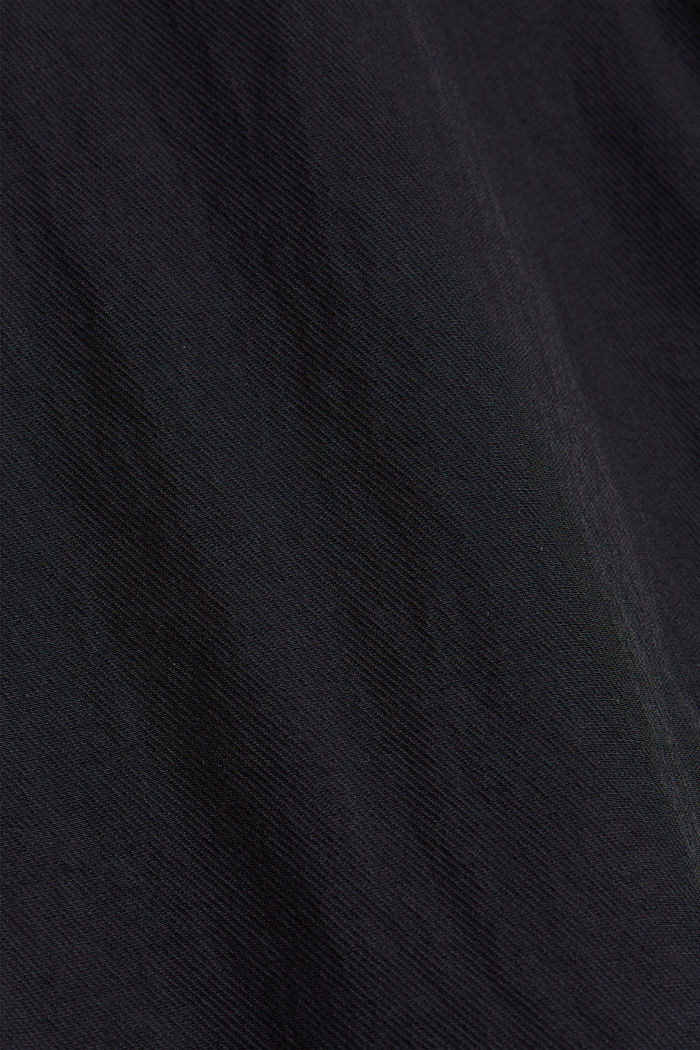 Water-resistant overshirt made of recycled material, BLACK, detail image number 4