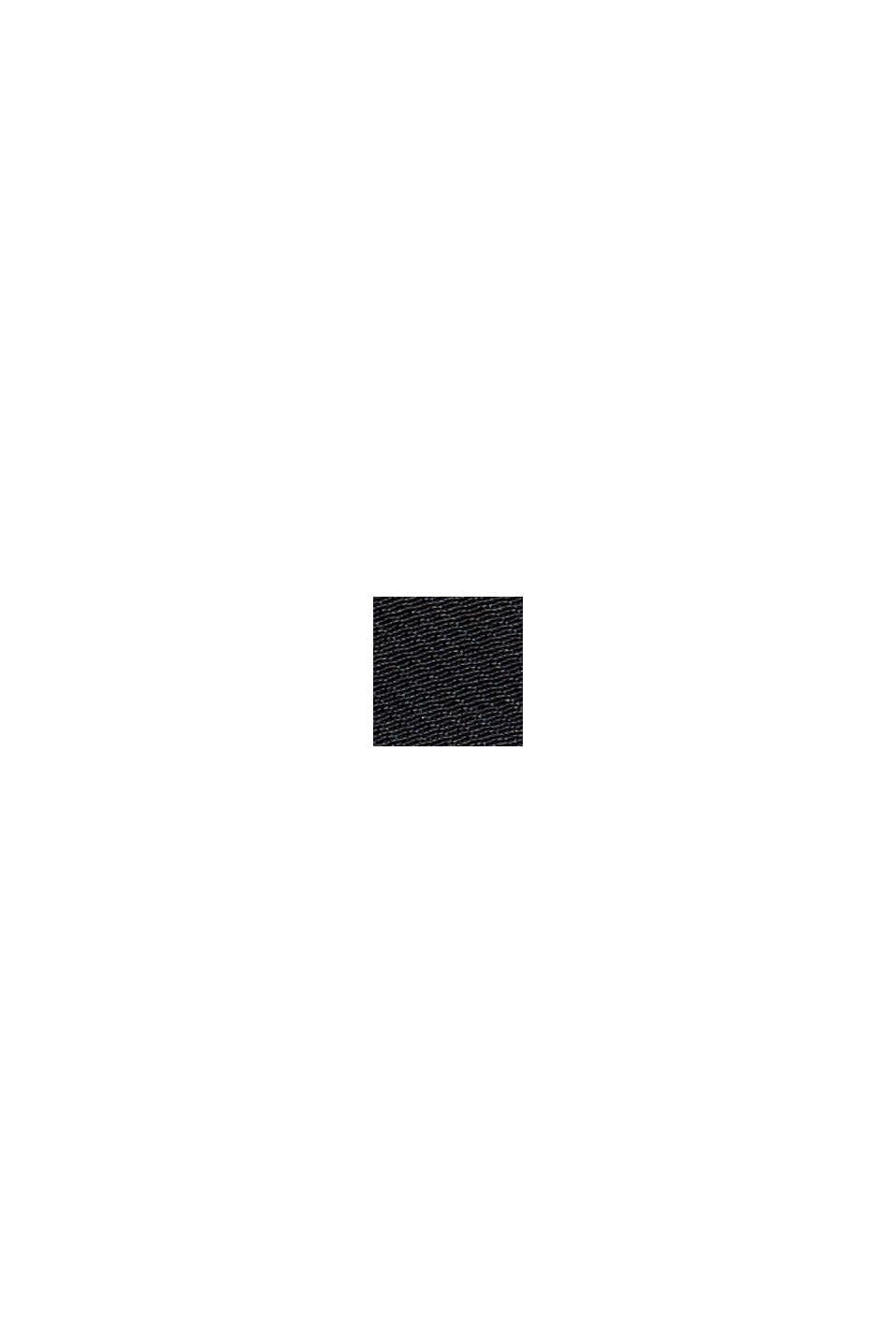 Recycelt: wasserabweisendes Overshirt, BLACK, swatch