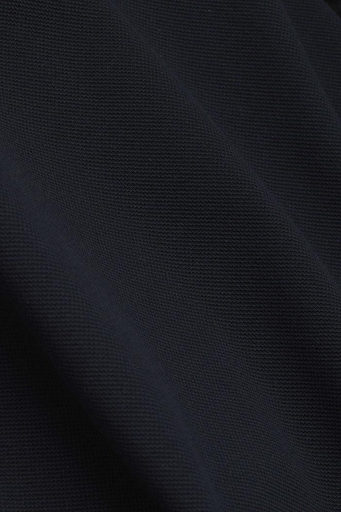 Premium-pikee-T-paita, 100 % luomupuuvillaa, BLACK, detail image number 4