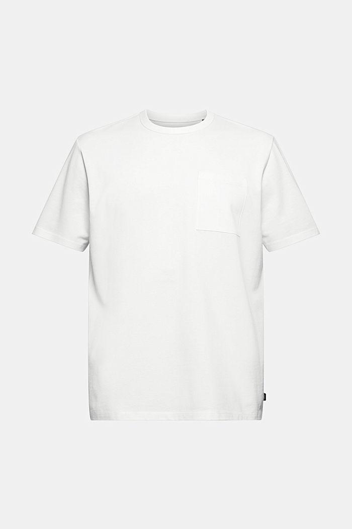 T-shirt haut de gamme en maille piquée, 100% coton bio