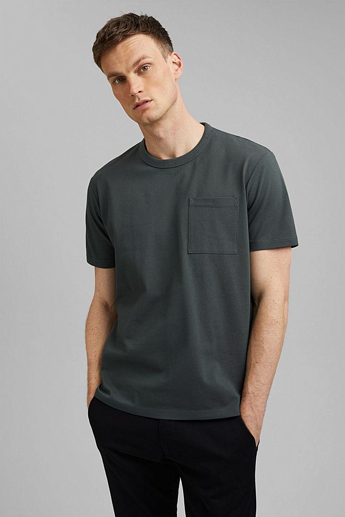 T-shirt premium z piki, 100% bawełny ekologicznej