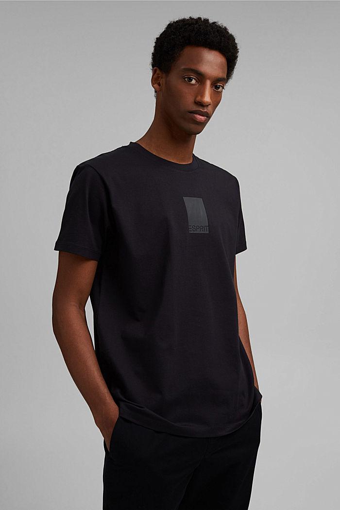 Jersey-Shirt mit COOLMAX®-Ausrüstung, BLACK, detail image number 0
