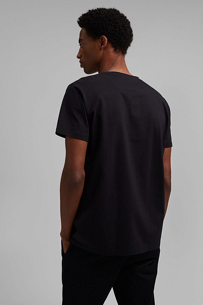 Jersey-Shirt mit COOLMAX®-Ausrüstung, BLACK, detail image number 3