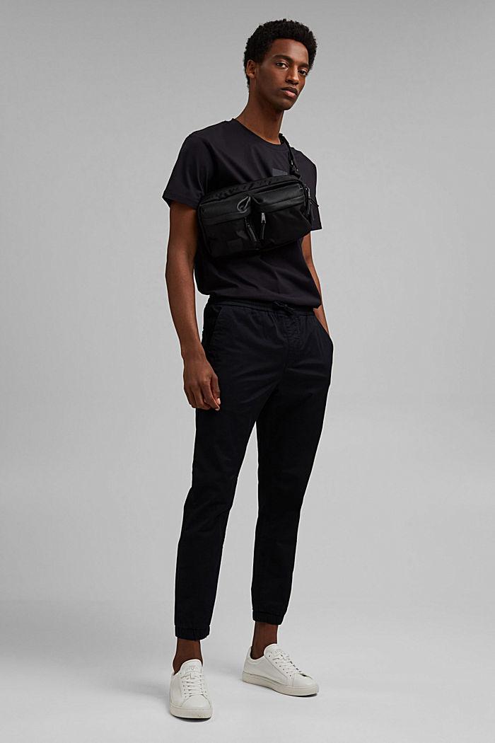 Jersey-Shirt mit COOLMAX®-Ausrüstung, BLACK, detail image number 2