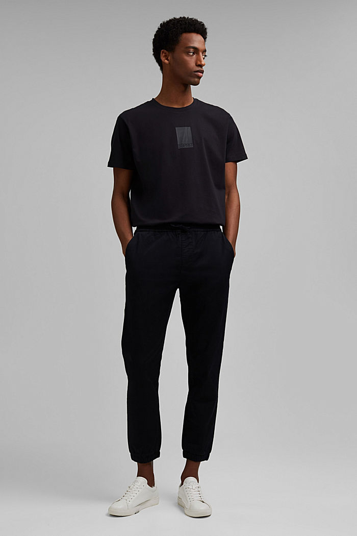 Jersey-Shirt mit COOLMAX®-Ausrüstung, BLACK, detail image number 6